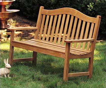 5 feet outdoor teak bench patio furniture garden