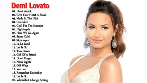 demi lovato all the songs demi lovato greatest hits 2017 demi lovato best songs