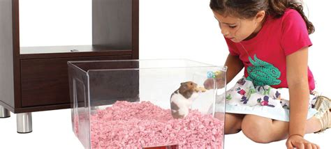 Qute Hamster & Gerbil Cage   Stylish Hamster House