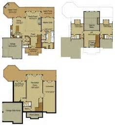 basement home plans rustic mountain house floor plan with walkout basement