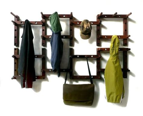 cool coat racks thru block modular coat rack lets you customize how you