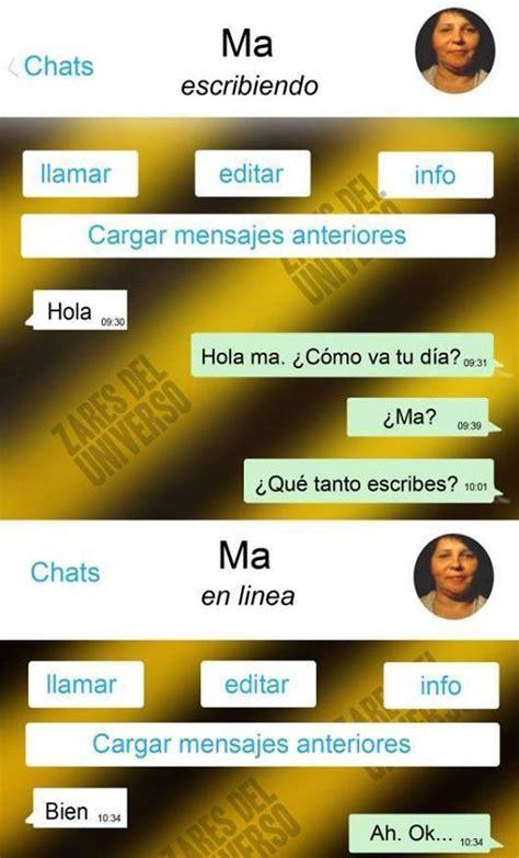 cadenas de whatsapp que asustan 161 que locura las madres y los whatsapp humor taringa