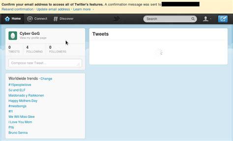 cara membuat twitter jadi private cara membuat twitter cyber gog