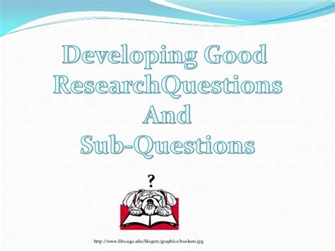 sub questions for research paper sub questions research paper