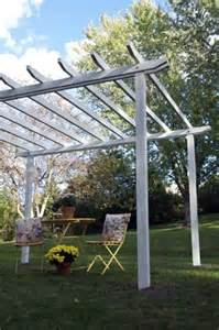 How Build A Pergola by How To Build A Pergola Yourself Instructions And Photos