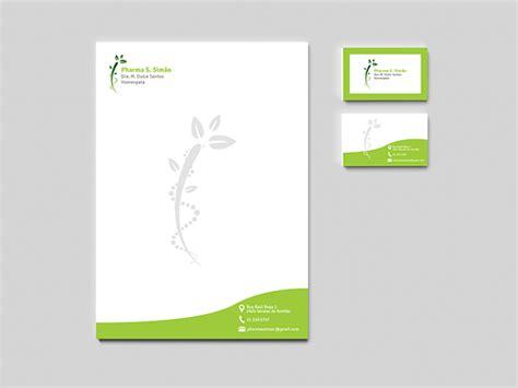 designer pad logo prescription pad business card homeopathy on behance