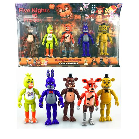 5 nights at freddy s toys aliexpress buy five nights at freddy s fnaf 5 5 inch