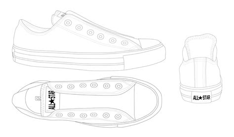 converse shoe template converse all low template by katus nemcu on deviantart
