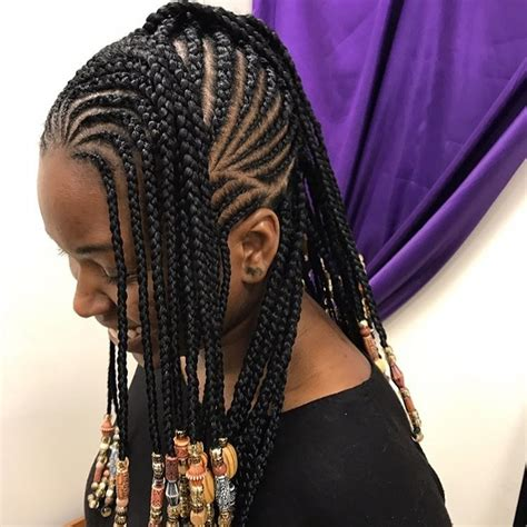 bid twisted braids 12 gorgeous braided hairstyles with beads from instagram