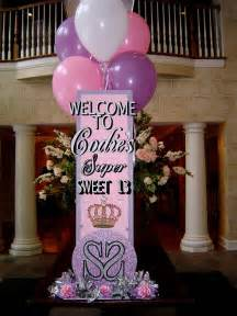 sweet 16 party decorations viewing gallery