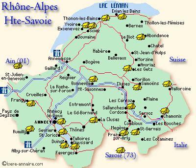 Camping Haute Savoie recherche caravaning chalets mobil home emplacement location vacances Haute