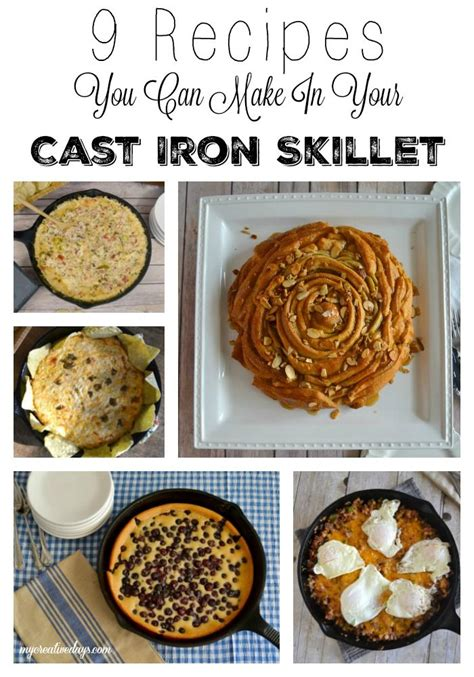 recipes you can make in your cast iron skillet skillets