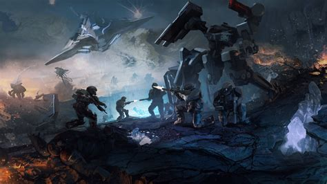 wallpaper 4k halo 4k wallpaper games halo wars operation spearbreaker dlc