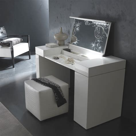 Furniture Vanity Bedroom Makeup Vanity Table With Mirror Designwalls