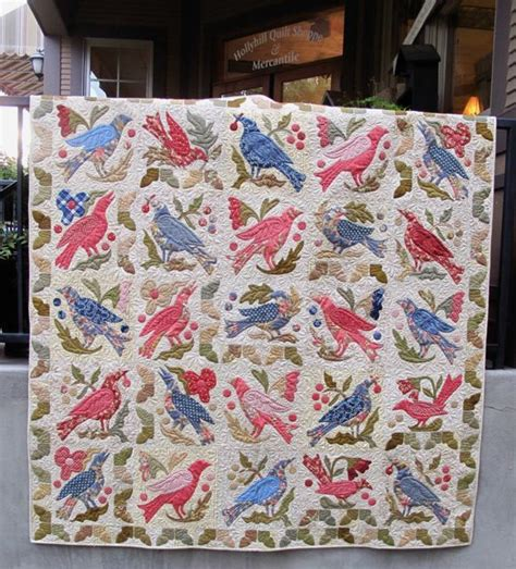 Hollyhill Quilt Shoppe by 17 Best Images About Bird Quilts On Bird Quilt