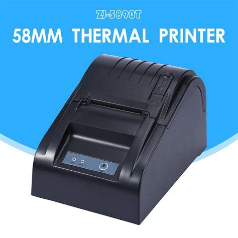 Printer Struk Taffware Pos Thermal Receipt Printer 57 5mm Zj 5890 zj 5890t 58mm thermal printer 58mm thermal receipt printer