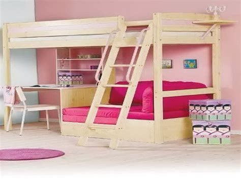 Bunk Bed With Sofa And Desk Bunk Beds With Desk And Sofa Home Design Ideas