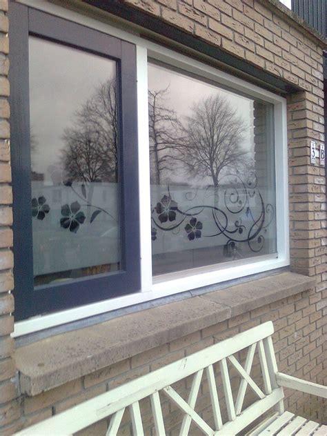 plakplastic keuken raamfolie bloemen keuken windowdeco