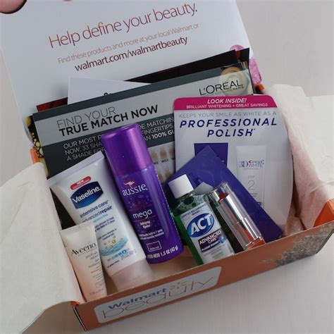 walmart beauty box subscription review spring 2015 my walmart beauty box subscription review fall 2015 my