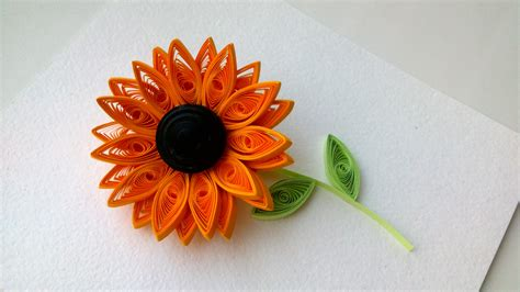 Paper Quilling Flower - quilling flowers tutorial 3d quilling how to make