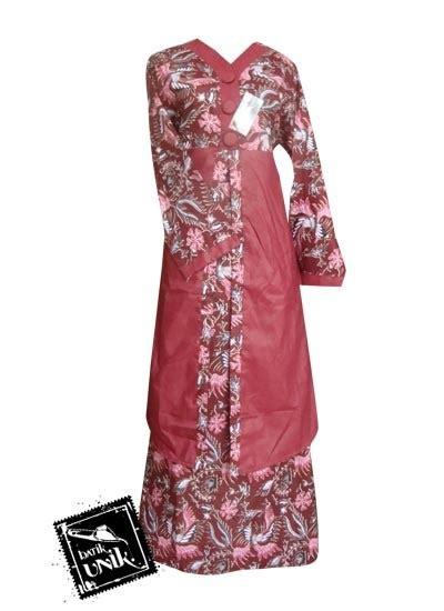 Baju Wanitabaju Murahdress Murah Askew Dress Ungu Kancing baju batik gamis motif batik pelikan melayu gamis batik murah batikunik