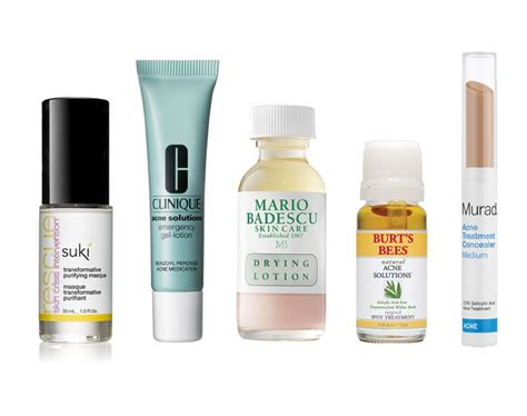 spot remedy the best acne spot treatments acne skin care the authority newbeauty