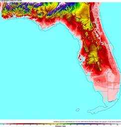 topographical map of florida florida topographic maps topographic map