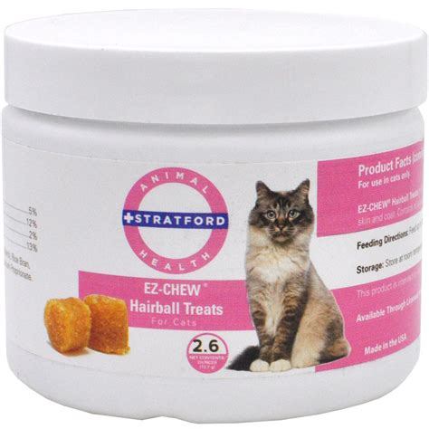 hairball remedy for dogs ez chew hairball remedy for cats 2 6 oz