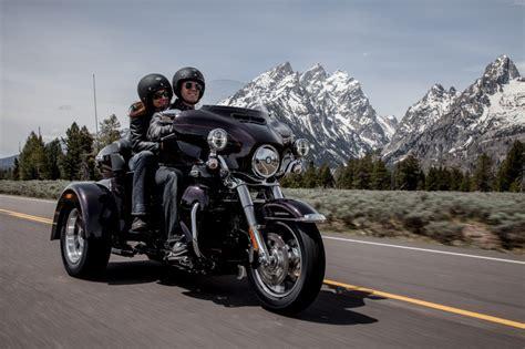 Boss Hoss Motorrad Höchstgeschwindigkeit by Harley Davidson Tri Glide Ultra Classic 2014 Motorage