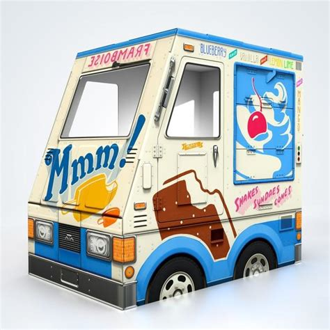 Cool Home Decorations by Oto Ice Cream Truck Famous Oto