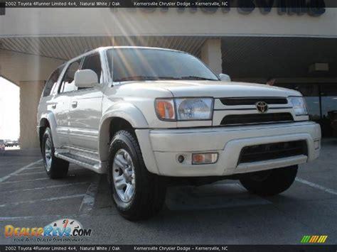 2002 Toyota 4runner Limited 2002 Toyota 4runner Limited 4x4 White Oak Photo