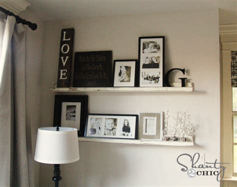 picture ledge picture ledge diy shanty 2 chic