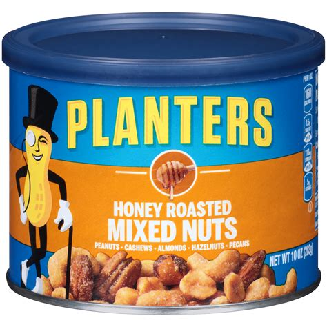Upc 029000016668 Planters Mixed Nuts Honey Roasted 10 Planters Honey Roasted Cashews