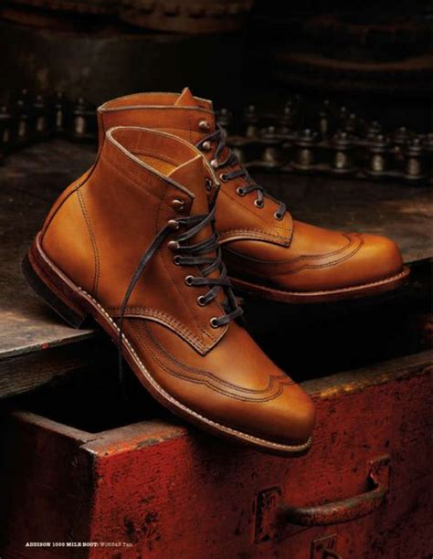 Sepatu Boot Handmade Zhoey Zip Up Original wolverines wolverine 1000 mile boots and the wolverine on