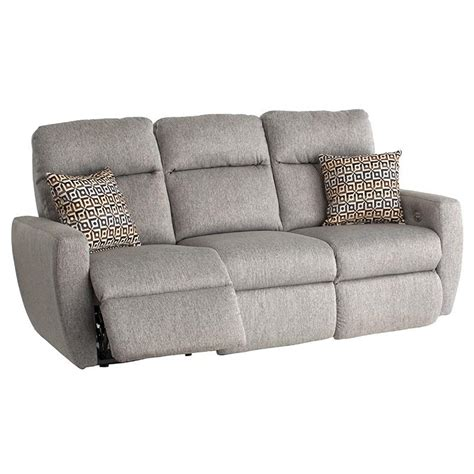 southern motion sofa with power headrest southern motion knock out reclining sofa with 2