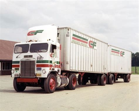 consolidated freightways truck cargo airlines emery worldwide cf trucks big rig trucks