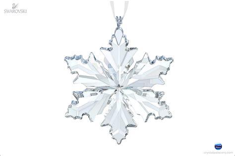snow flake ornaments swarovski snowflake ornament 2014