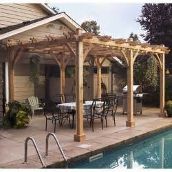 Cedar Pergola Kits by Pergola Kits Pergola Kit Patio Covers Place