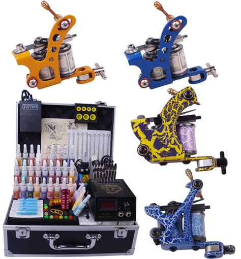 tattoo machine equipment discount code tattoo equipment cheap permanent makeup supply 4 guns