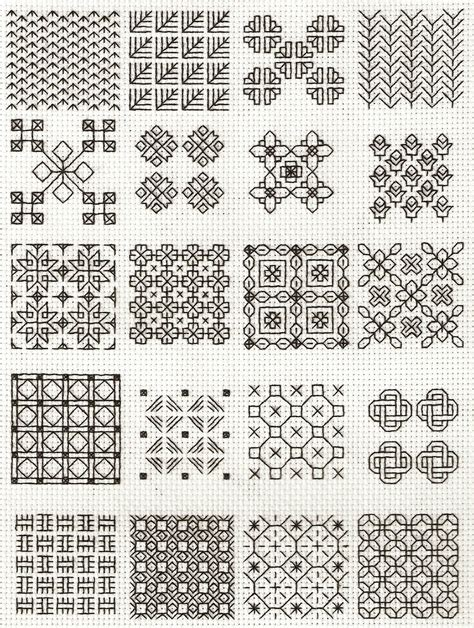 blackwork pattern blackwork fill in slers backstitch