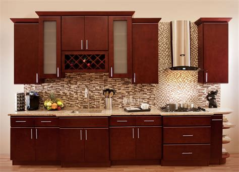 ebay kitchen cabinets villa cherry wood kitchen cabinets cherry stained maple