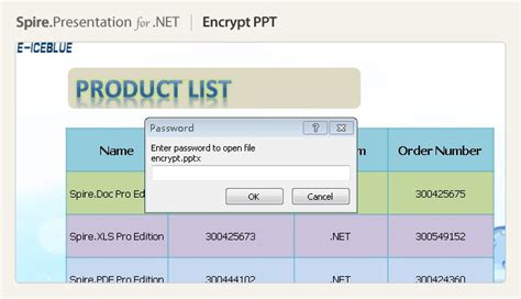 encryption tutorial powerpoint slides net powerpoint component processing ppt pps pptx