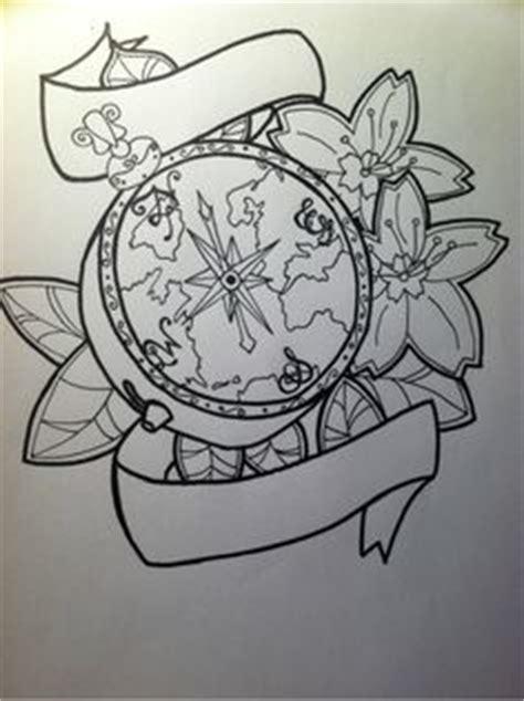 secret family tattoo verona compass sketch for tattoo design quote from life magazine