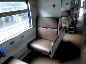 Sleeper Class Seating by 171 Timetable Thailand Bangkok To Sungai Kolok