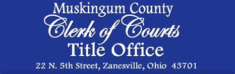 Zanesville Court Records Zanesville Ohio County Auditor County Auditor
