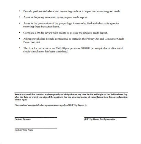 consulting contract template consulting contract template 11 free sle exle