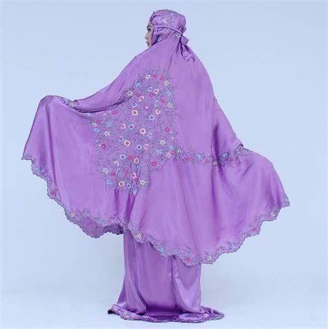 Mukena Behel Yoryu Marbella Ungu Muda mukena behel ungu muda 187 mukena cantik baju muslim fashion b4im