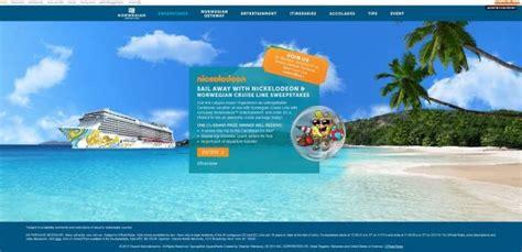 Norwegian Cruise Sweepstakes - nickjr com norwegian sail away with nickelodeon norwegian cruise line sweepstakes