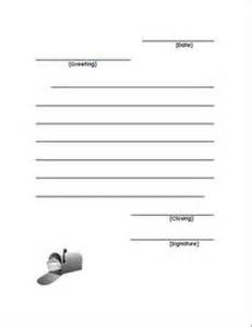 Friendly Letter Template For 2nd Grade Second Grade Writing On Pinterest Friendly Letter
