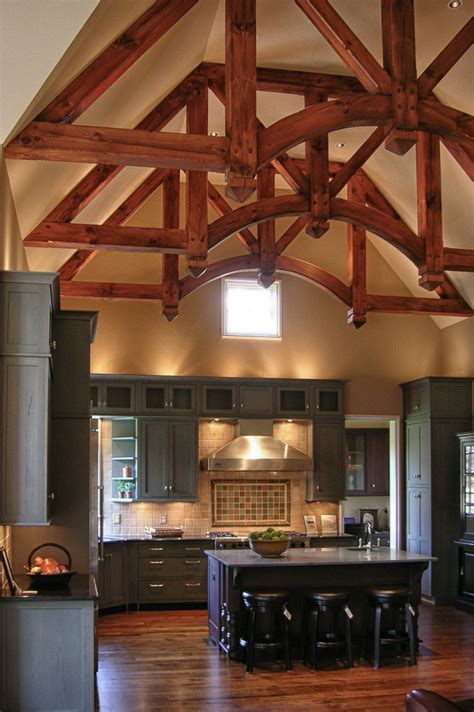 Frame Kitchen by Timber Frame Kitchens